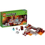 more details on LEGO Minecraft The Nether Railway - 21130.