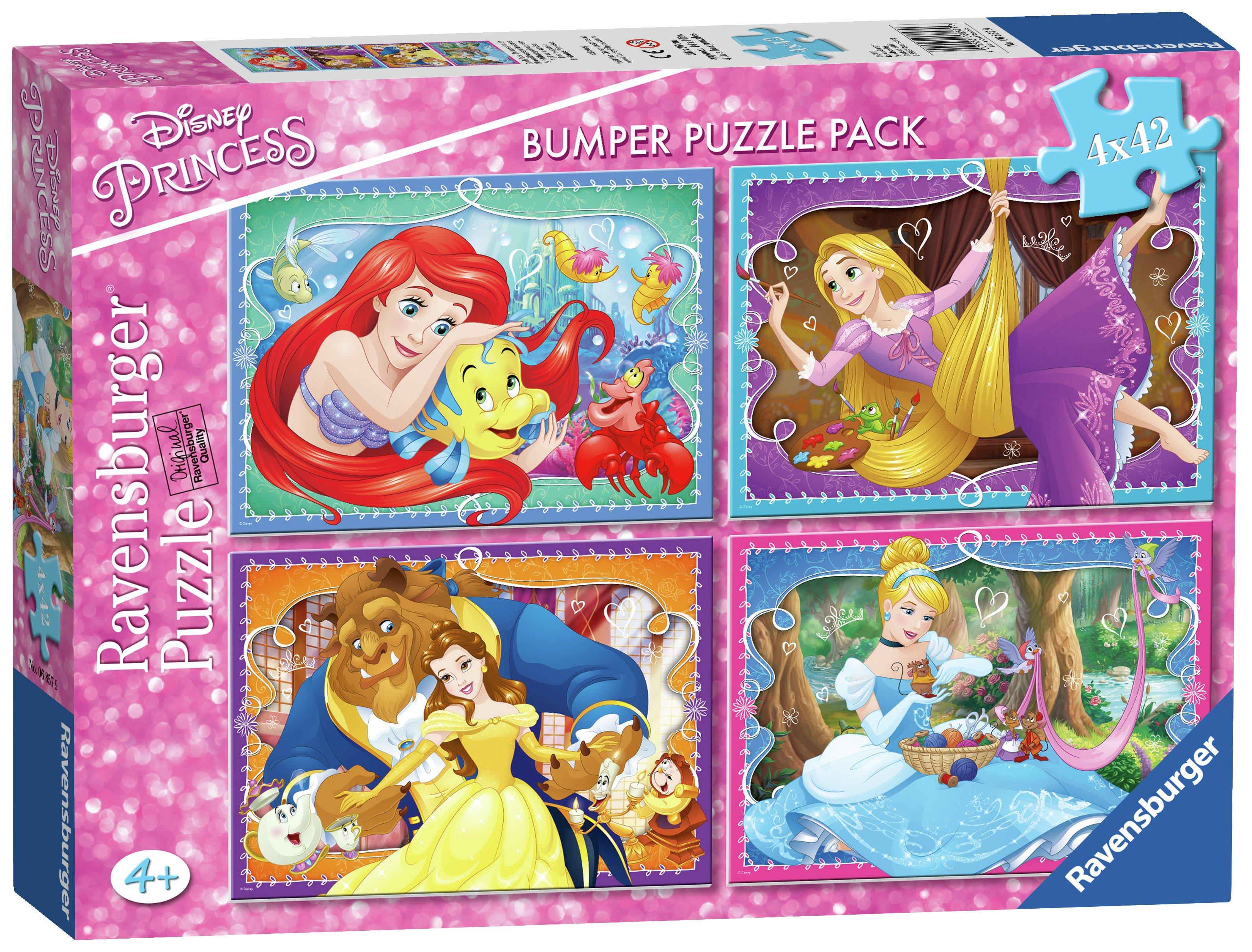Disney Princess Puzzles and jigsaws Argos