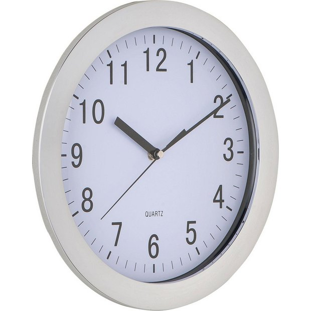 Buy Home Chrome Wall Clock At Your Online