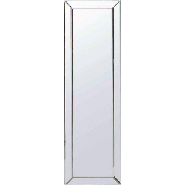 Buy Collection Blanche Bevelled Glass Edge Mirror Silver