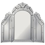 more details on Collection Venetian Dressing Table Mirror - Silver.