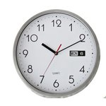 more details on HOME Silver Day and Date Wall Clock.