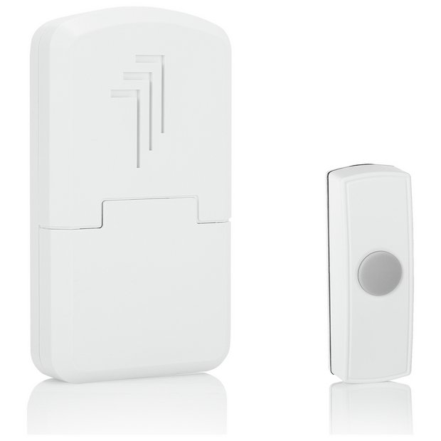 buy byron db301 30m wireless doorbell with portable chime. Black Bedroom Furniture Sets. Home Design Ideas