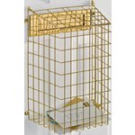 more details on HOME Wall Mountable Letter Cage - Brass Finish.