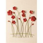more details on Collection Chrissie Metal Flower Wall Art.