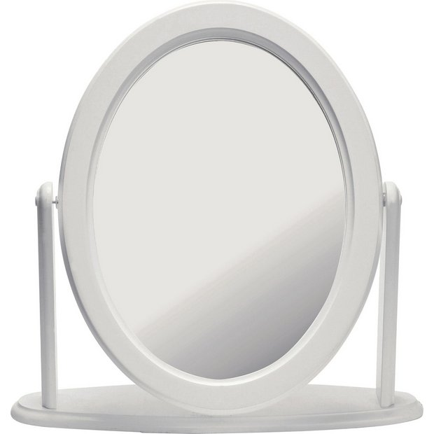 Buy Home Oval Dressing Table Mirror White At Argos Co Uk