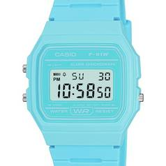Casio Retro Blue Digital Watch