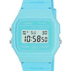 Casio Retro Digital Blue Resin Strap Watch