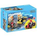 more details on Playmobil 6869 Go Kart Garage Playset.