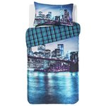 more details on Collection New York Digital Print Bedding Set - Single.