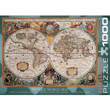 Results for world map eurographics 1000 piece antique world map puzzle gumiabroncs Images