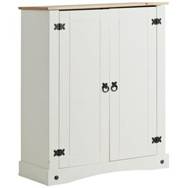 Argos Home Two Tone Shoe Cabinet