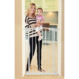 Dreambaby Chelsea Tall Auto-Close White Gate (71-80cm)