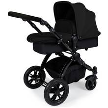Ickle bubba Stomp V2 2-in-1 Pushchair - Black.