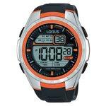 more details on Lorus Men's Orange Detail Digital Watch.