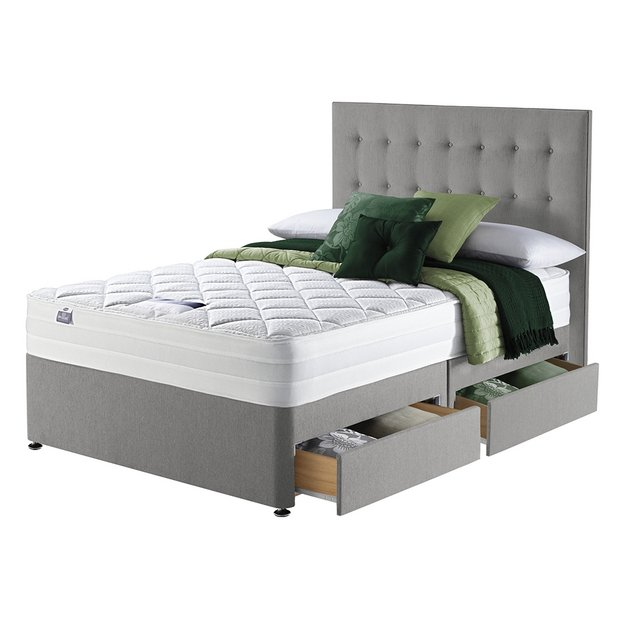 Buy Silentnight Knightly 2000 Luxury Superking 4 Drw Divan Bed At Your Online Shop