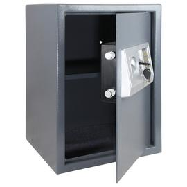 Argos Home Tall 35cm Electronic Steel Safe with Shelf