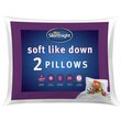 more details on Silentnight Soft Like Down Pillow - 2 Pack
