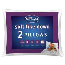 Silentnight Soft Like Down Pillow - 2 Pack