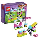 more details on LEGO Friends Puppy Playground - 41303.
