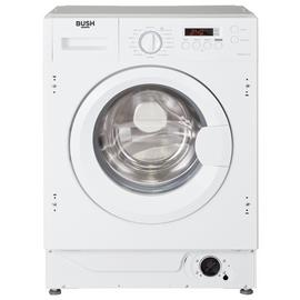 Bush WMNSINT714W Integrated 7KG 1400 Washing Machine - White