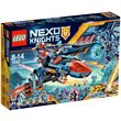 more details on LEGO Nexo Knights Clays Falcon Fighter Blaster - 70351.