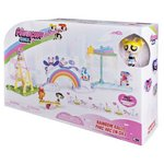 more details on Powerpuff Girls' Rainbow Roll Playset.