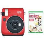 more details on Fujifilm Instax Mini 70 Camera Bundle - Red.