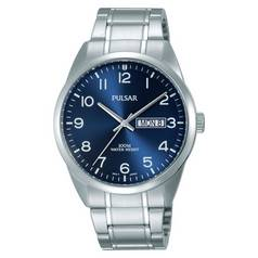 Pulsar Men's Blue Dial Arabic Bracelet Watch