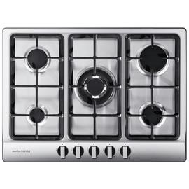 Rangemaster RMB70HPNGFSS Gas Hob - Stainless Steel