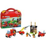 more details on LEGO Juniors Fire Patrol Suitcase - 10740.