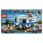 more details on LEGO City Money Transporter - 60142.