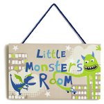more details on Arthouse Little Monsters Hanging Printed Wooden Plaque.