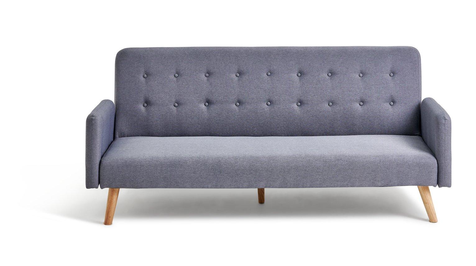 Hygena Marseille Clic Clac Sofa Bed   Grey