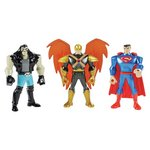 more details on Justice League Action Mighty Mini  Figure 3-pack Assortment.