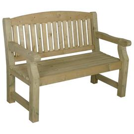Forest Harvington Wooden 2 Seater Garden Bench