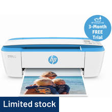 HP Deskjet 3720 All-in-One Wi-Fi Printer - Instant Ink Ready