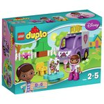more details on LEGO DUPLO Doc McStuffins Rosie the Ambulance - 10605.