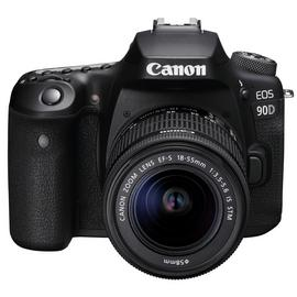 Canon EOS 90D DSLR Camera Body with 18-55mm Lens