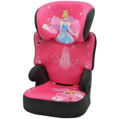 TT Disney Princess Groups 2 3 Black High Booster Car Seat