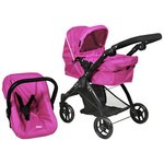 more details on Britax Smile 3 In 1 Dolls Stroller - Hot Pink.