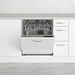more details on Beko DIN16210 Full Size Integrated Dishwasher - White.