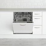 more details on Beko DIN16210 Full Size Integrated Dishwasher - White.