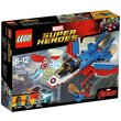 more details on LEGO Super Heroes Captain America Jet Pursuit - 76076