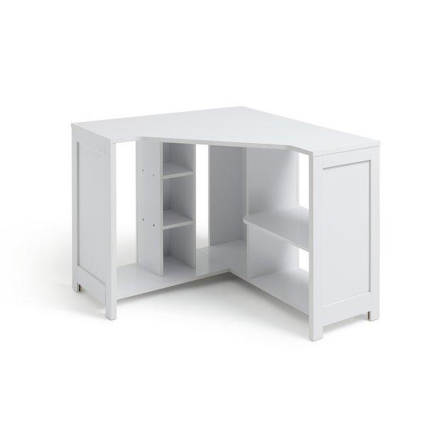 Buy Argos Home Conrad Corner Desk - White | Desks | Argos