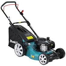 Makita PLM4626N 46cm Hand Push Petrol Lawnmower - 140cc