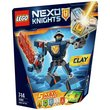 more details on LEGO Nexo Knights Battle Suit Clay - 70362.