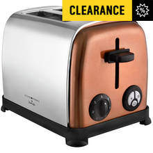 KitchenOriginals 2 Slice Toaster - Copper