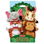 more details on Melissa and Doug Zoo Friends Hand Puppets.
