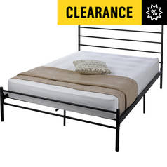 Argos Home Avalon Kingsize Bed Frame - Black